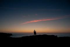 (p_v a l d i v i e s o) Tags: ocean family sunset sea summer people cliff portugal clouds canon europe dusk bluehour algarve twopeople atlanticocean summerdays summernights silhuette bordeira endofday 24105mm costavicentina viladobispo ef24105mmf4 praiadabordeira farodistrict pinkhour canoneos5dmarkiii wiffs 5d3 bordeirabeach