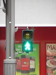 New pedestrian countdown timer signals on North Tce (RS 1990) Tags: light parkinglot traffic pedestrian september led adelaide 12th countdown timer thursday signal southaustralia aldridge davidjones 2013 northtce
