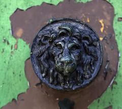 Door Handle (Stephen Whittaker) Tags: door detail building texture abandoned architecture liverpool handle nikon peeling paint pov exploring lion orphanage explore derelict seamans d5100 whitto27