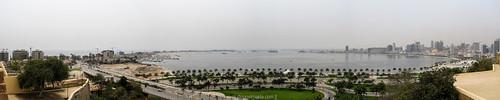 Luanda Bay / Ilha do Cabo - Panorama from Fortaleza São Miguel