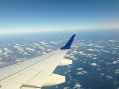 Flying (sfPhotocraft) Tags: sky clouds flying newjersey wings wing nj jetblue 190