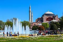 Istanbul (Kevin-G Photography) Tags: city blue sky sun water beautiful skyline turkey amazing nice asia europa europe view istanbul trkei turkish moschee