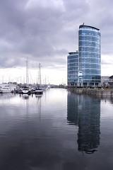 Medway Marina (Sarah H Bennett) Tags: reflection marina boats kent chatham medway medwaymarina