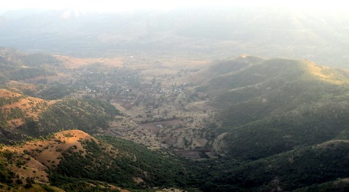 View from Sinhagad Fort, Pune, Maharashtra