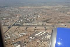 TUS TUCSON INTL AIRPORT FROM FLIGHT TUS-LAS 737 N748SW (airlines470) Tags: airport usb tus 737 n748sw tuslas