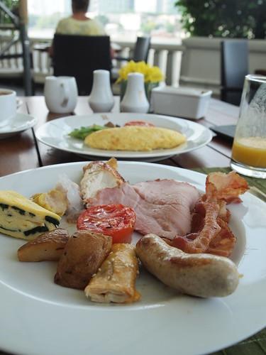マンダリンオリエンタルバンコク朝食