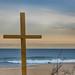 god's square mile (nosha) Tags: ocean blue sea sky usa seascape beautiful beauty newjersey cross nj og shore jerseyshore oceangrove nosha