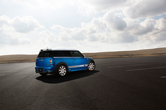 2010 Mini Cooper Clubman S (Brent Burford Photography) Tags: lighting blue light car canon photography angle wheels stock wide mini automotive chrome cooper editing edit 2012 2010 clubman 2014 2015 2011 2013 strobist t2i