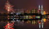 New Year 2014 @ Kuala Lumpur (fl_amit) Tags: lake reflection water night raw fireworks newyear malaysia kualalumpur klcc twintower flamit flickrstruereflection1 flickrstruereflection2 flickrstruereflection3 flickrstruereflection4