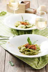 Green ravioli (Oxana Denezhkina) Tags: italy food macro cooking kitchen cheese dinner tomato cuisine wooden stuffed healthy italian mediterranean sauce background traditional olive plate nobody vegetable pasta fresh meat gourmet filled health homemade meal oil diet parmesan gastronomy ravioli ingredient