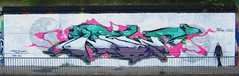 gullivers souvenir part2 (spoare153) Tags: new streetart colors wall germany graffiti hall back artwork frankfurt fame style piece bam 153 ffo sbr spoare spoare153 153design 52bodies 69exchanges
