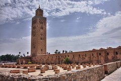 Koutoubia Mosque, Marrakesh (Zolivier) Tags: morocco maroc marrakech marrakesh hdr koutoubia