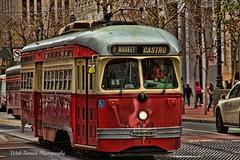 San Francisco transportation_013 (Walt Barnes) Tags: sanfrancisco city urban canon eos downtown streetscene calif muni transportation commute streetcar hdr topaz streetshoot 60d canoneos60d topazadjust eos60d singleendedpcc wdbones99