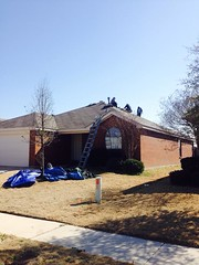 "Roof install 030914-3 Haslet, TX • <a style=""font-size:0.8em;"" href=""http://www.flickr.com/photos/119846003@N04/13034498644/"" target=""_blank"">View on Flickr</a>"