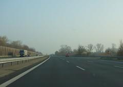little traffic on the Autobahn (BZK2011) Tags: highway driving autobahn überholspur