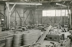 Caledon Shipbuilding & Engineering Company Ltd (Dundee City Archives) Tags: caledonshipbuildingengineeringcompanyltd dundee stannergate shipyard tay 1930 pipebendingshop machinery workshop