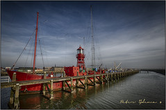 the old light ship ... (<<<< peter ijdema >>>>) Tags: sea water zee