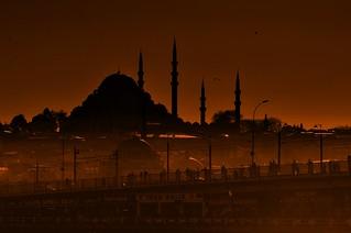 Sunset Süleymaniye