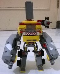 1 (ezrawibowo) Tags: city robot lego scifi mecha mech moc 60018 alternatebuild
