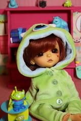 My little monster (*Peluche*) Tags: mike monster yellow tan bob pirate lea limited scar wazowski lati razowski