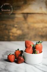 strawberries (abrowntable) Tags: pink red ginger vegan berry raw berries drink sweet coconut strawberries drinks vegetarian coconutmilk palmsugar rawginger