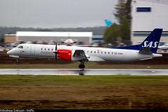 SE-KXK Saab 2000 Scandinavian Airlines SAS (Op. by Braathens Regional) (Andreas Eriksson - VstPic) Tags: from new love by 2000 d it op sas airlines brand saab regional 198 scandinavian gotta kalmar admit braathens klr sekxk sasscheme