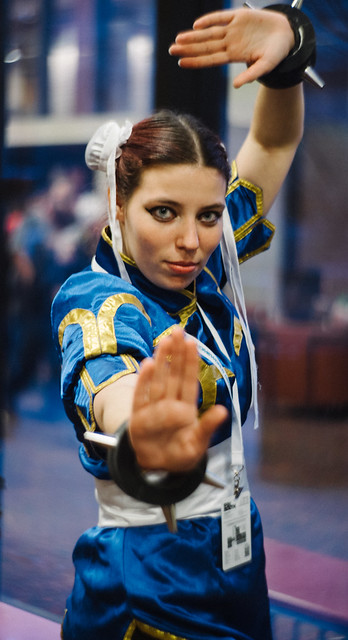 Chun Li (Street Fighter cosplay)