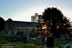 St Tudor's at Sunset (fromthevalleys-) Tags: southwales blackwood mynyddislwyn sttudorschurch sttudor sttudorchurch sainttudorschurch sainttudorchurch