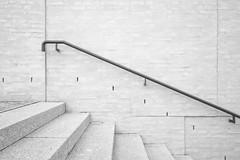 Escalier (Arthur Lancereaux) Tags: city light blackandwhite texture lines stone architecture stairs buildings germany