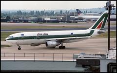 I-BUST - London Heathrow (LHR) 22.07.1993 (Jakob_DK) Tags: london heathrow az 1993 airbus lhr alitalia aza a300 egll airbusa300 a300b4 a300b4103 ibust