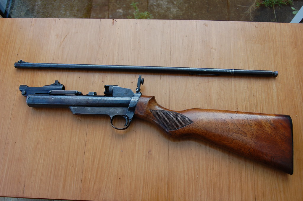 Dating a webley service air rifle