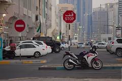Stop (engine9.ru) Tags: street bike ngc uae abudhabi abu dhabi koyaanisqatsi