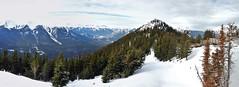Banff National Park (LH495 ✈) Tags: park panorama mountain snow canada mountains calgary ice landscape national alberta banff gondola