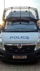 A Hertfordshire police van (slinkierbus268) Tags: policevan hertfordshirepolice