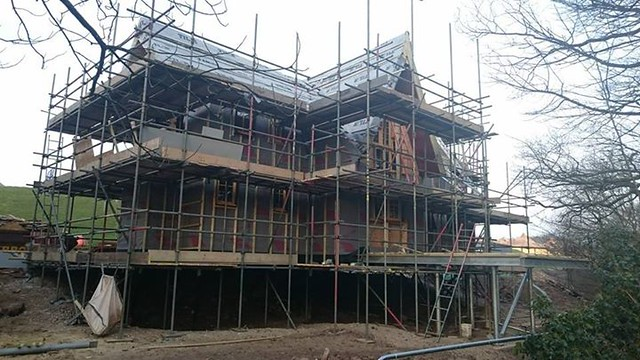 Treehouse construction