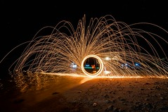 Spinning... (Syahrel Azha Hashim) Tags: travel light shadow vacation holiday detail beach beautiful lines dark island nikon colorful pattern dof action getaway details tokina malaysia spinning shallow simple 11mm sabah steelwool ultrawideangle d300s denawanisland syahrel