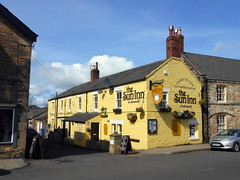 The Sun Inn at Alnmouth (@crantock) Tags: travel sun building english yellow stone rural coast pub inn holidays rooms village east northumberland coastal alnmouth nort