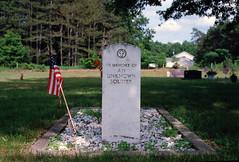 ektarcontaxg1holland_0033.jpg (karstenphoto) Tags: contax g1 kodak ektar 45mm f2 planar zeiss ishootfilm filmisnotdead tomb an unknown soldier memorial day memoriam us military burial gravestone headstone marker memorialday