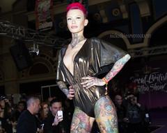 Great British Tattoo Show 2016 (Nick Atkins Photography) Tags: london fashion tattoo lingerie alexandrapalace latex alternative beckyholt nickatkinsphotography greatbritishtattooshow2016
