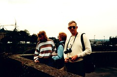 Luxembourg   -    Luxembourg City    -    John, Jessica & Me   -    September 1989 (Ladycliff) Tags: luxembourg luxembourgcity barbara jessica john