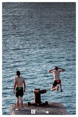 Keep Calm and enjoy Aguilas (Miguel Angel Lillo Fotografa) Tags: aguilas mar murcia espaa mediterrneo nios bao salto nikon d7200 18140mm