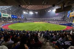Seoul: Gocheok Sky Dome (stuckinseoul) Tags: city sports asian photo spring asia baseball stadium capital korea korean photograph u seoul heroes kr southkorea   nexen  seoulkorea republicofkorea i canoneos6d flickrseoul nexenheroes sigma1224mmf4556dghsmii gocheokskydome iseoulu