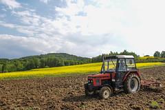 Zetor 7711 Turbo (Jacob99MF) Tags: canon eos spring poland turbo land fallow cultivation 7m 2016 zetor 7711 1200d akpil2