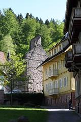 Guest house with ruin (tillwe) Tags: house tree green ruin ruine blackforest tillwe kloster allerheiligen oppenau 201605 norschwarzwald hochzeitsfeierjd