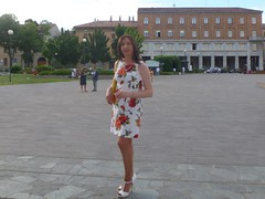 Cremona - Piazza Marconi (Alessia Cross) Tags: tgirl transgender transvestite crossdresser travestito