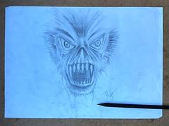 Drawing Monster (mefefirat) Tags: art monster tattoo illustration pencil ink pencils sketch artist arty arte drawing sketching arts drawings sketchbook sketchs draw draws inked pencilart pencildrawing