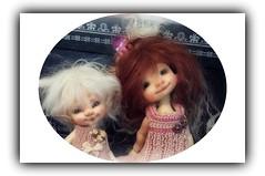 Jozee and Gracie (Jonquil O) Tags: suzy bjd kane fairyland pupu nefer realpuki