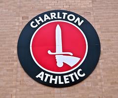 Charlton Athletic (D_Alexander) Tags: uk england london southlondon charlton thevalley southeastlondon charltonathletic clubcrest