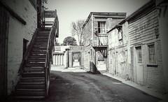 'Wild West' 3 (Yowell Art) Tags: wild west jail morningside edinburgh scotland hidden street
