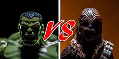 Hulk vs Chewbacca (Vimlossus) Tags: toy starwars action figure hulk marvel chewbacca